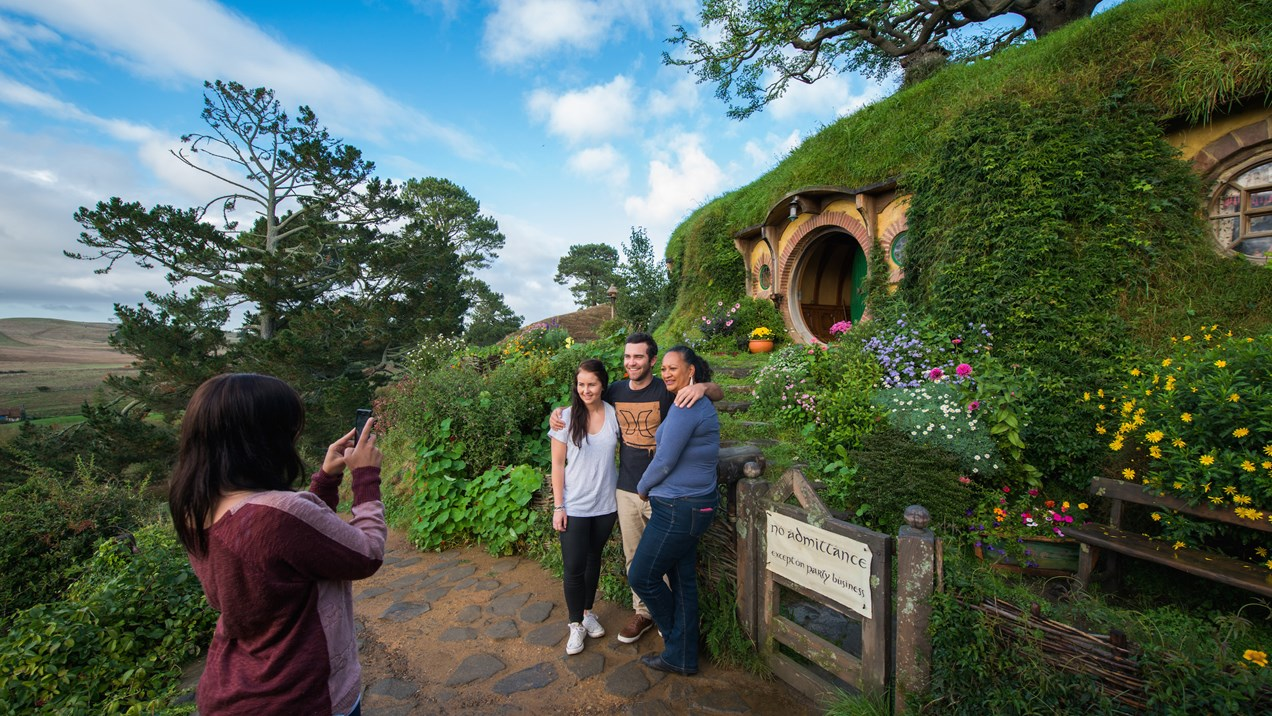 Bag End photo opportunity.