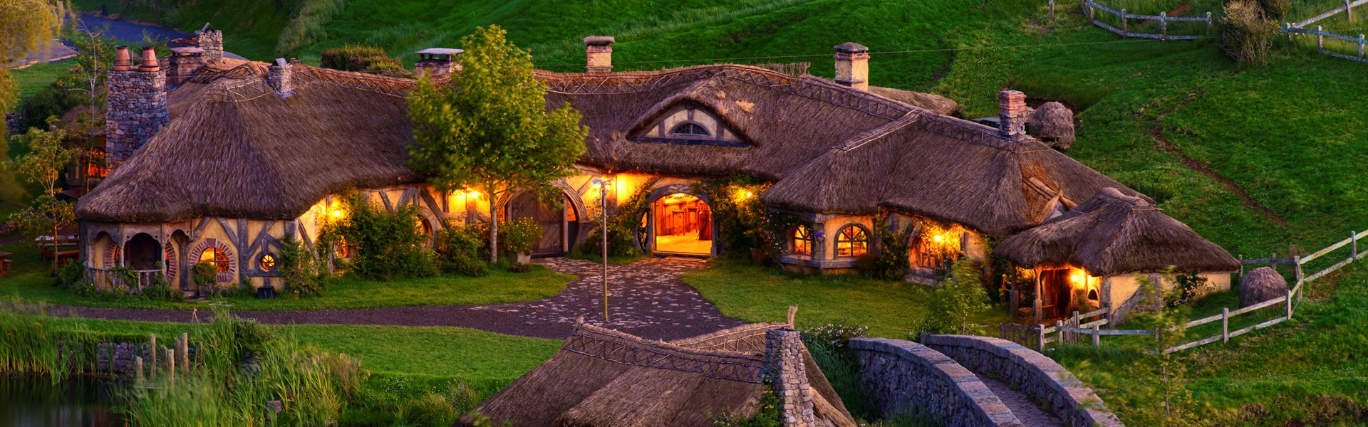 The Hobbiton Green Dragon Inn